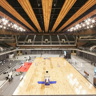 Ariake Arena.