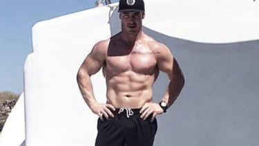 Brad Soper, a personal trainer, died on Sunday morning.