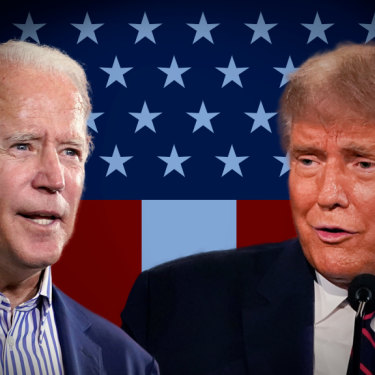 Polls have Biden ahead of Trump in the race to the White House.