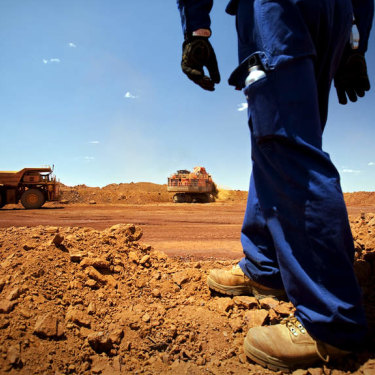 Filthy rich: Taking iron ore territory in WA's Pilbara, however small, pays big dividends.