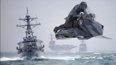 The military Speeder.