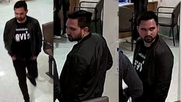 Images of a man police would like to speak to over a sexual assault in Mickleham