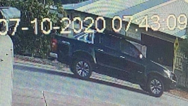 Police would like to speak to the driver of this ute.