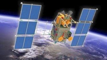 The Russian Kanopus-V satellite.