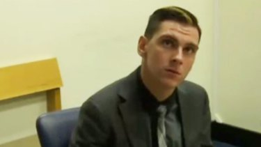 Dylan Voller testifies at the Royal Commission.