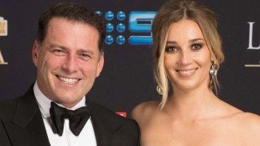 Karl Stefanovic with Jasmine Yarbrough.