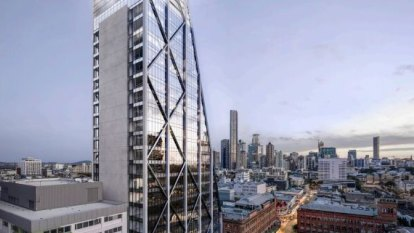 Tapered glass tower to rise above historic site in Fortitude Valley
