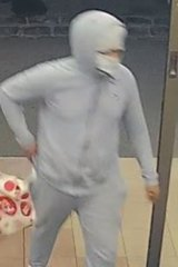 Police were looking for this man last week over the hold up.