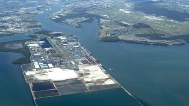 A man has died at the Port of Brisbane.
