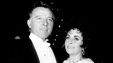 "Richard Burton, here with Elizabeth Taylor, was ""an amazing man, the most intelligent, most well-read actor I've ever worked with'', says Byrne."