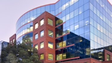 Wentworth Plaza, at 9 Wentworth Street, Parramatta, is part of five office assets being sold by Charter Hall.
