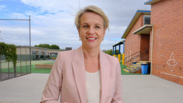 Labor education spokesperson Tanya  Plibersek said this type of policy might have prevented her from going to university.