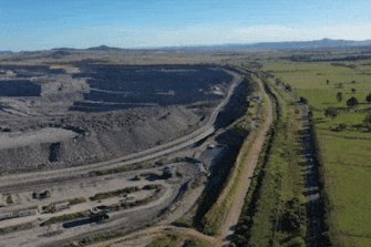 BHP's Mt Arthur coal mine near Mussellbrook.
