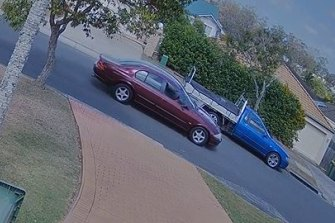 Gold Coast and Homicide detectives  released CCTV vision of two vehicles they believe were used as getaway cars after the shooting.