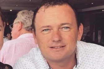 Graham Butt, 35, is originally from Queensland.