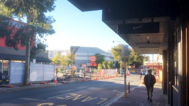 Beaufort Street has been bereft of foot traffic for some time, compounded by Water Corp works in the area.