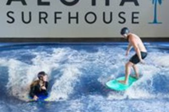 Aloha Surfhouse is great for surfie kids who want to stay on the waves all the way through winter.