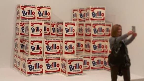 At an Andy Warhol exhibition, the 'influencer' finds its home