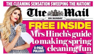 Sophie Hinchcliffe in Britain's Daily Mail.