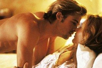 Brad Pitt and Geena Davis in Thelma & Louise.