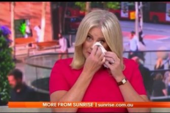 Samantha Armytage announces her decision to step away from her role as co-host of Sunrise
