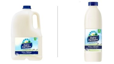 Supermarkets have recalled one-litre and three-litre varieties of Dairy Farmers milk sold in NSW due to a possible E. coli contamination.