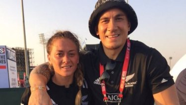 Rugby royalty: Niall and Sonny Bill Williams.