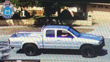 Police would like to speak to the driver of this vehicle.