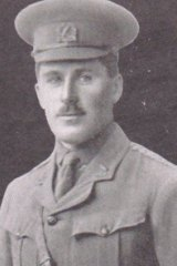 Morris Milliken, the diary's author,  who was killed at Gallipoli on August 8, 1915.