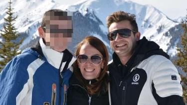 Melissa Caddick and her husband Anthony Koletti in Aspen, Colorado.