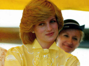 Princess Diana in Alice Springs during a royal tour of Australia in 1983.