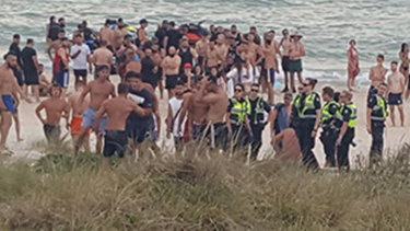 Police say they will be back on Chelsea beach on Friday night.