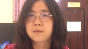 Zhang Zhan is a lawyer turned citizen journalist who went to Wuhan to chronicle the first coronavirus outbreak.