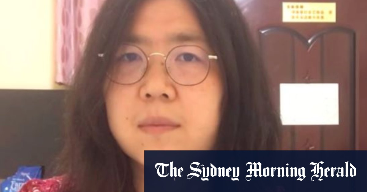 China jails citizen journalist for four years for Wuhan reports – Sydney Morning Herald