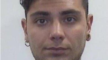 Antonio D'Amico, 24, was arrested on Monday.