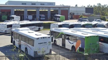 The Clarks Logan City Bus Service depot.