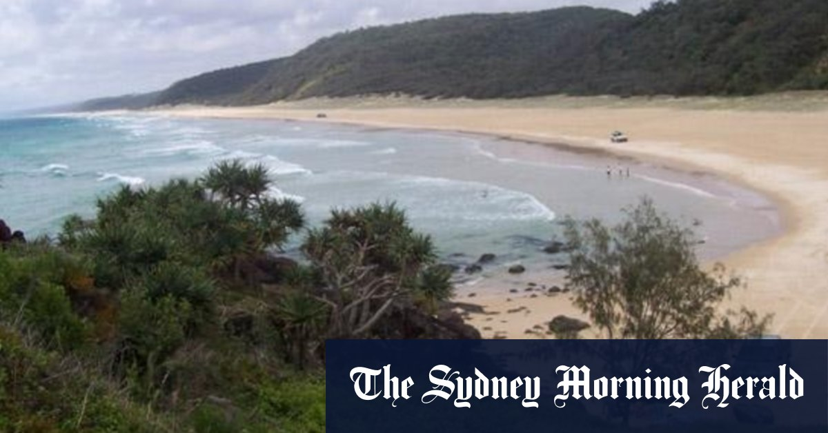 Two men drown at Teewah Beach on Sunshine Coast – Sydney Morning Herald