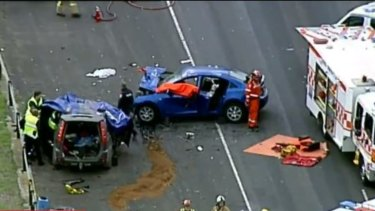 Two people are dead after a head-on collision in Bulla near Melbourne airport.