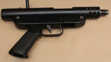 Queensland police have released images of a pistol similar to the one used in the Shane Bowden shooting.