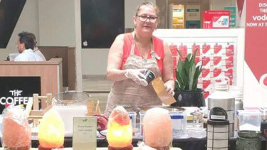 Tracey Barnes of FrothnFlames Candles and Soap.