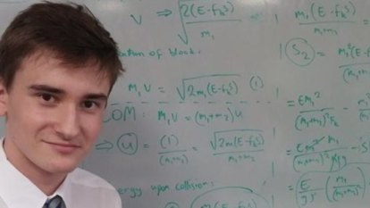 IQ 154 maths whiz finishes UQ degree early with six subjects a semester
