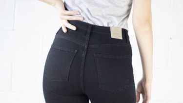 A pair of Justice Denim jeans.