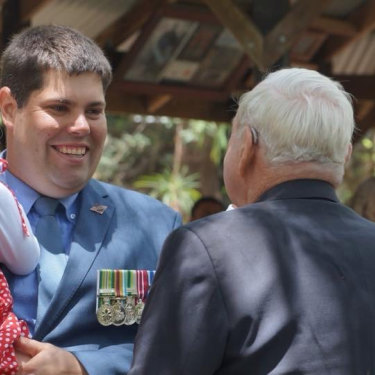 Brent Mickelberg wants Queenslanders to remember the invisible wounds men and women of the armed forces carry with them when they return home.