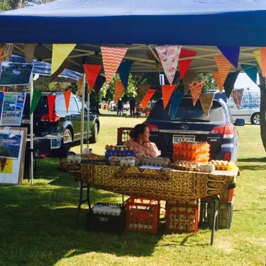 The Runnymede stall.