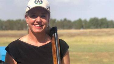 Senator Bridget McKenzie at the Wangaratta Clay Target Club