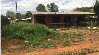 A house in WA's remote Kimberley visited by the review team.