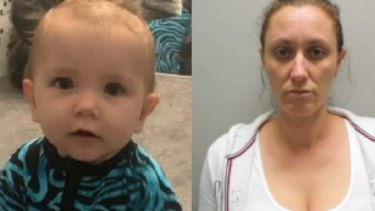 Brooke Patterson-Buckton and her one-year-old child have disappeared.