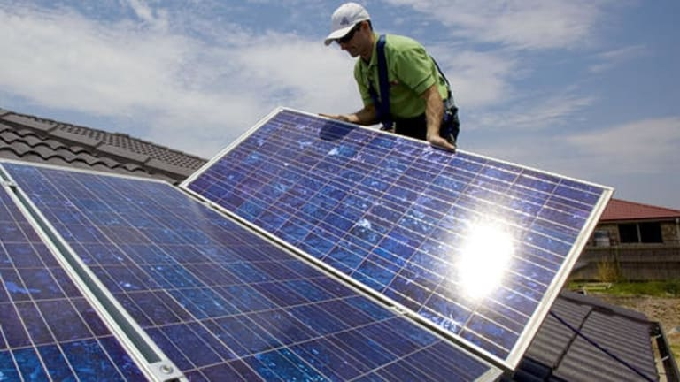 The sharp rise in solar rooftop panels means there is more power being generated than is needed