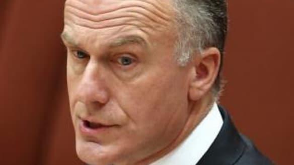 Politics Live: Coalition senator Eric Abetz lashes 'self-indulgent' ABC