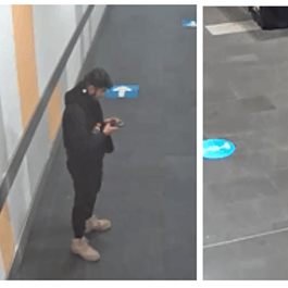 Police on hunt for man after 'up-skirting' incident at shopping centre